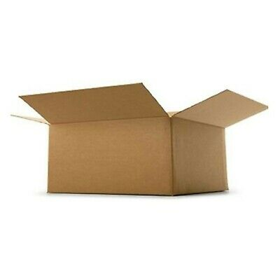 REALPACK® 10 x Boxes Single Wall Size : 12''x9''x7'' - Ideal for Moving Hous...