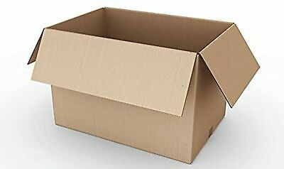 REALPACK® 10 x Boxes Single Wall Size : 12''x9''x9'' - Ideal for Moving House...