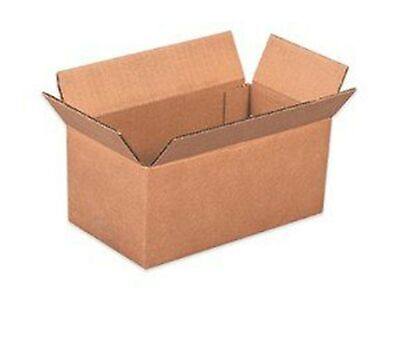 REALPACK® 10 x Boxes Single Wall Size : 9''x6''x6'' - Ideal for Moving House ...