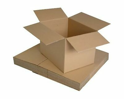 REALPACK® 10 x Boxes Single Wall Size : 12''x9''x6'' - Ideal for Moving House...