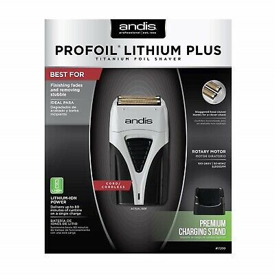 Andis Profoil Lithium Plus Shaver 17200 BRAND NEW!