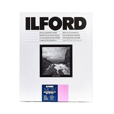 Ilford Multigrade IV Deluxe - Paper for black and white printing, 17.8 x 24 c...