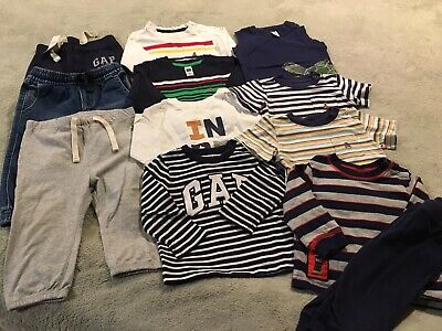 Baby Gap Boys 12 -18 Months Lot Of Baby Clothes. NWT, NWOT and Pre Owned