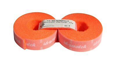 Patch See ID Scratch, Cable Ties, 2Rolls, each 2.50m, Orange, IDS-FO-REFILL-5