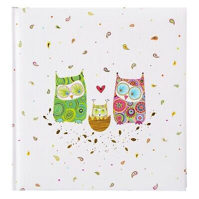 Goldbuch Baby Photo Album 60White Pages with Pergamine, 4Illustrated Pages,...