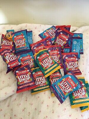 NEW 2018 Coles Mini Little Shop Collectables  Variety Assorted Rare Milo + More