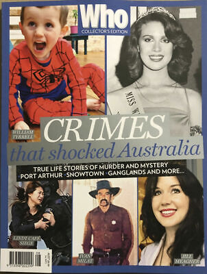 WHO Special Magazine Collector's Edition: HOLLYWOOD TRUE CRIME NEW