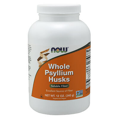 NOW Foods Whole Psyllium Husks 340g Colon Cleanse Diet Weight Loss Fiber