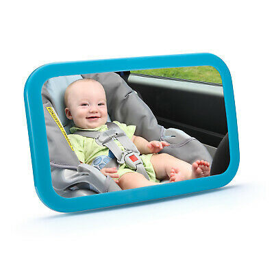 360 Angle Adjustable Large Wide Baby Child Car Safety Back Seat Mirror Rear View