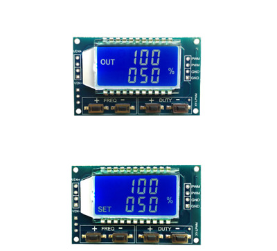 Module Générateur de Signal 1Hz-150Khz PWM Fréquence d'Impulsion LCD Rectangle
