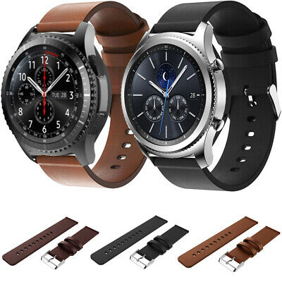 Genuine Leather smart Strap Band For Watch Samsung Gear S3 Classic/Frontier 2017