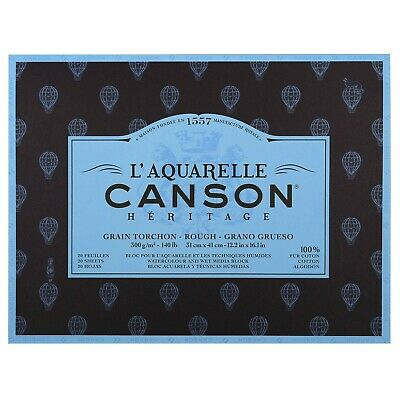 Canson Artist Canson Legacy Bonded 4Sides 20Sheets Grain Torchon Rough Text...