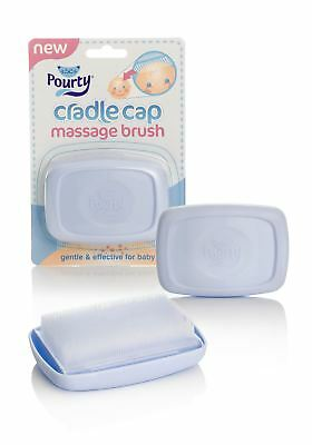 Pourty Cradle Cap Massage Brush Helps Remove Cradle Cap From Babies