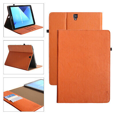 Premium Custodia Protettiva in Pelle per Samsung Galaxy Tab s3 Tablet Custodia Cover Case