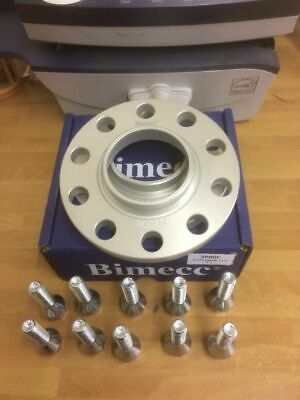 Mercedes Hubcentric 10mm Wheel Spacers & Bolts  C E CLASS 5x112 66.6 2004>