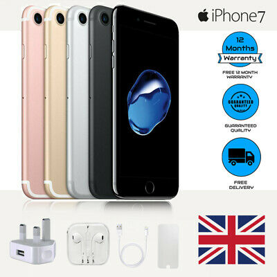 New Apple iPhone 7 128GB 32GB Unlocked Smartphone Various HOT SAEL Perfect