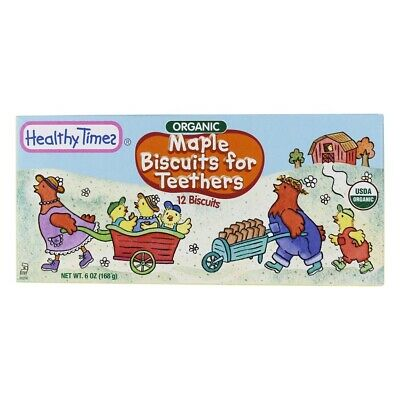 Healthy Times - Organic Biscuits for Teethers Maple