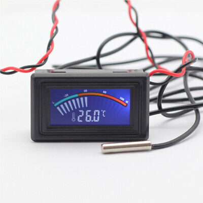LCD Digital Thermometer For Computer Temperature Monitor Water Heater Detection