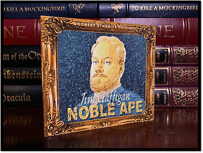 Noble Ape ✎SIGNED♫ by JIM GAFFIGAN Brand New CD Stand Up Comedy Humor Comedian