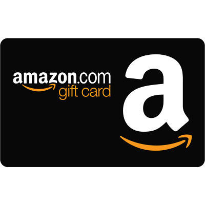 $50 NEW AMAZON Gift Card Box Ships FAST! Guaranteed by Paypal w/ NO Worries