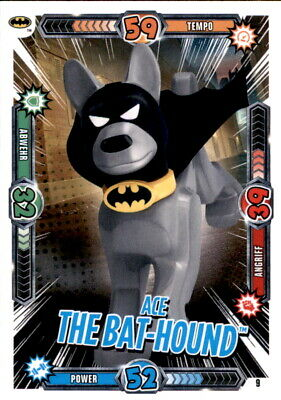 Lego BATMAN MOVIE CARDS no 9-Ace the Bat-Hound