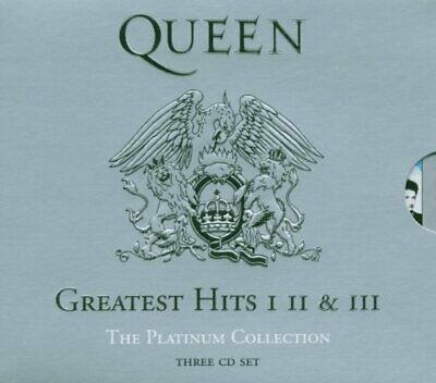 Queen The Platinum Collection Greatest Hits CD. New and sealed. Free delivery.
