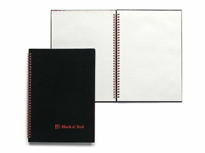 Black n Red Book Wirebound 90gsm Ruled Indexed A-Z 140 Pages A4 Ref M67005 [P...