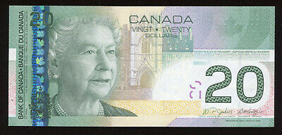 2006 Bank of Canada $20 Replacement Banknote - BC-64aA-i