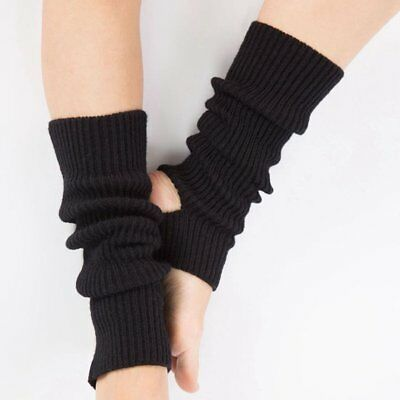 Children Adult Latin Dance Leg Sets Knit Sport Protective Wool Ballet Warm mw