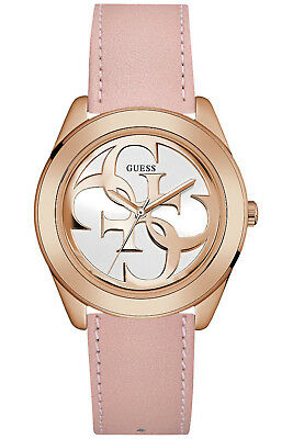 GUESS LADIES G Twist Denim Strap Watch W0627L13 EUR 117,76
