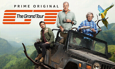 The Grand Tour Season 3 DVD Box Set Brand New -Sealed Pack