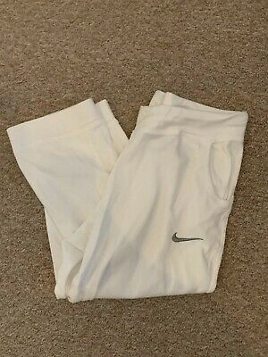 Girls White Nike Jogging Bottoms/Pants *UK Size 13-15 Years*