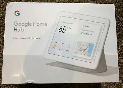 Google Home Hub with Google Assistant -Chalk - Control All Smart Devices & More