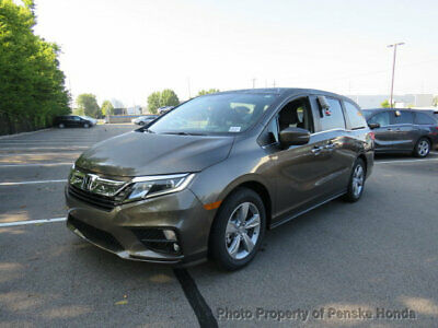 2019 Honda Odyssey EX-L Automatic EX-L Automatic New 4 dr Van Automatic Gasoline 3.5L V6 Cyl Pacific Pewter Metall
