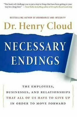 NEW Necessary Endings By Henry Cloud Hardcover Free Shipping