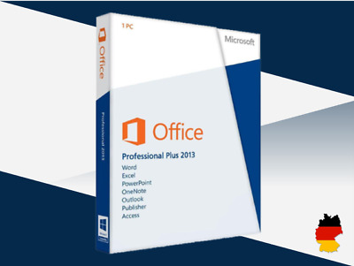 MS Office 2013 Professional Plus, Pro Plus, 32&64 Bits, Produktkey per email