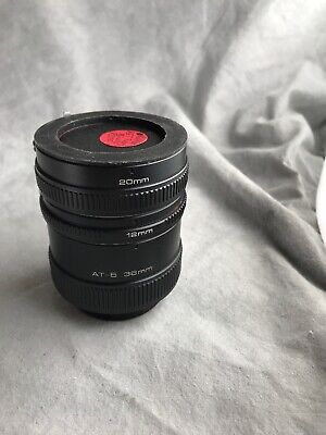 Vivitar Automatic Extension Tube Set For Minolta MD (S2-16)