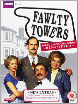 Michael Gwynn, John Cleese-Fawlty Towers: Remastered DVD NEW
