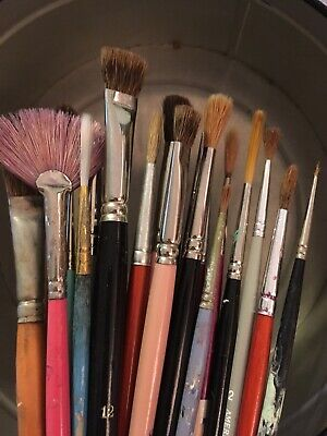 Lot 20 China Paint Painting Brushes Paintbrushes Fancy Brands Germany France