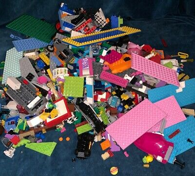Lego Mixed 5 lbs Pound Unsorted Lot of Bricks and Pieces 5lbs Pounds