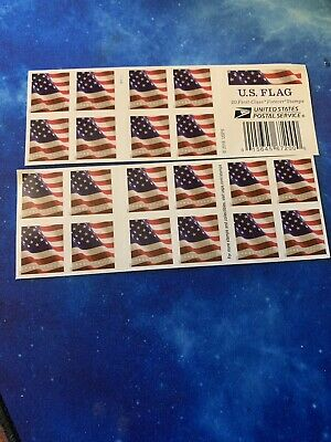 USPS US Flag 2017 Forever Stamps - Book of 20 Free Shipping