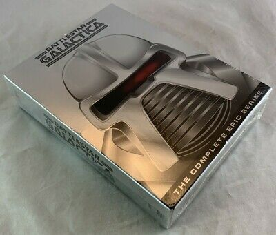 New Sealed DVD Box Set Battlestar Galactica The Complete Epic Series