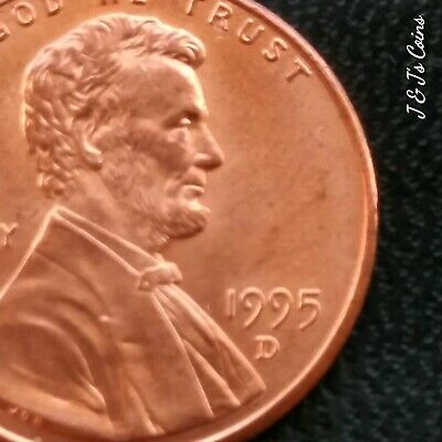 1995 Lincoln Cent ~ Double Die Obverse Ddo Error ~ Nice Bu Uncirculated!