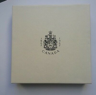 Canadian 1867-1967 6 Coin Proof-like Set