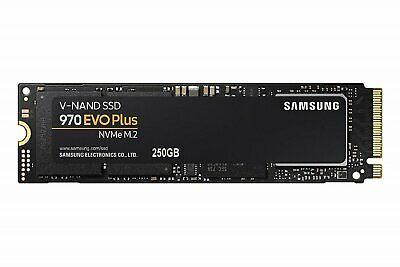 SAMSUNG 970 EVP PLUS NVMe M.2 SSD 3,500MB/s Read 250 GB SOLID STATE DRIVE NEW AU