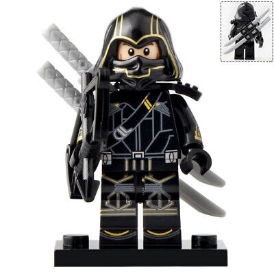 Hawkeye (Avengers) - Marvel End Game Lego Moc Minifigure, High Detail
