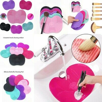 2019 Silicone Makeup Brush Cleaner Washing Scrubber Board Cosmetic Cleaning Mat