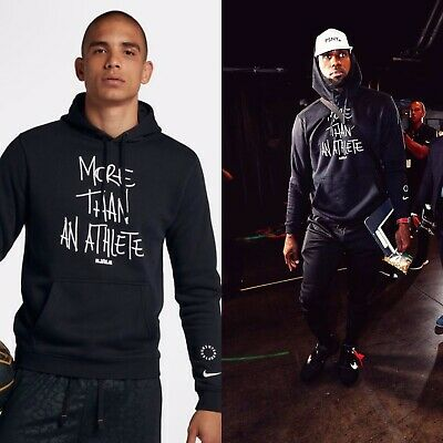 a84fcdc04ce3d NIKE LEBRON JAMES More Than An Athlete Men s Basketball Hoodie Size ...