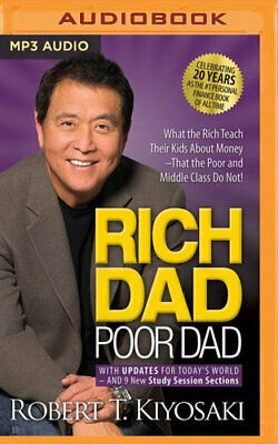 NEW Rich Dad Poor Dad By Robert T. Kiyosaki CD in MP3 Format Free Shipping
