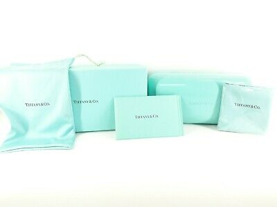 Tiffany & co sunglasses case with Tiffany & co cleaning cloth & microfibre bag
